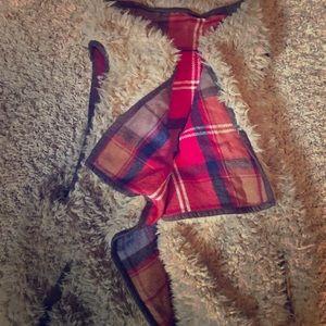 Flannel Wool Open Vest